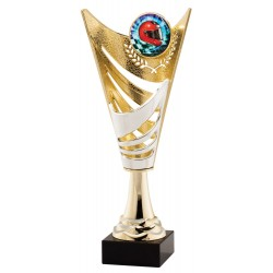 Plastic Cup / Marble Base Award C-3907
