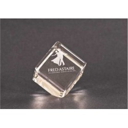 """2"""" Crystal Paperweight"""
